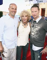 Neal H. Moritz, Kathy Nelson and Brian Tyler at the premiere of