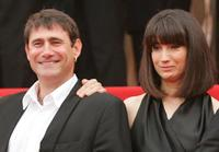 Sergi Lopez and Guset at the premiere of