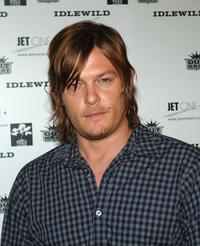 Norman Reedus at the Outkast Record Release After Party.