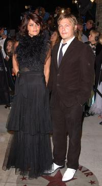 Norman Reedus and Frederic Cumenal at the premiere of