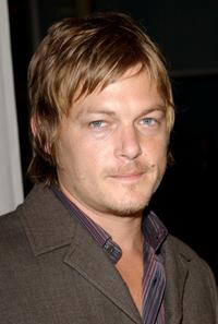 Norman Reedus at the world premiere of