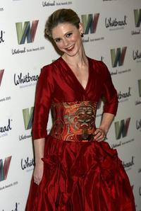 Emilia Fox at the Whitbread Book of the Year Award 2005.