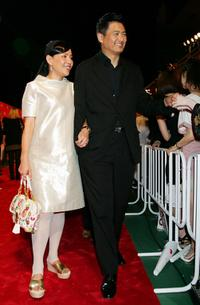 Chow Yun-Fat at the Tokyo for Asia Premiere of