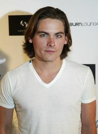 Kevin Zegers at the Cabana Club's Grand opening.
