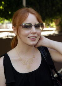 Lauren Ambrose at the Outfest Six Feet Under Panel.
