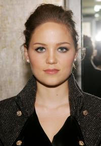 Erika Christensen at the Cinema Society and Zenith Watches screening after party of