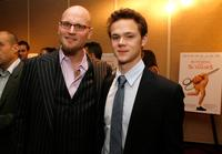 Augusten Burroughs and Joseph Cross at the world premiere of