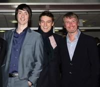 Brian Milligan, Guest and Stuart Graham at the premier of