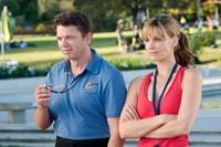 John Michael Higgins and Molly Sims in