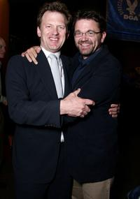 Director Ted Braun and John Michael Higgins at the after party of the screening of