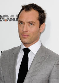 Jude Law at the New York premiere of