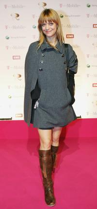 Heike Makatsch at the Robbie Williams T-Mobile Aftershow party.