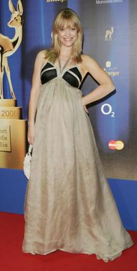 Heike Makatsch at the 58th annual Bambi Awards.