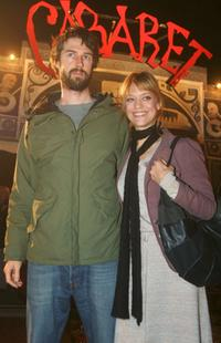 Heike Makatsch and Max Schroeder at the premiere of