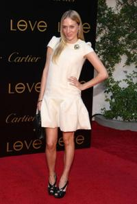 Chloe Sevigny at the third Annual Loveday celebration and Cartier Love Charity Bracelet launch.