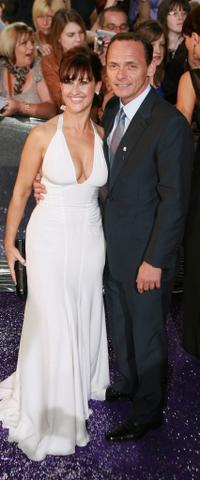 Angela Lonsdale and Perry Fenwick at the British Soap Awards 2007.