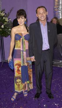 Kacey Ainsworth and Perry Fenwick at the British Soap Awards 2003.