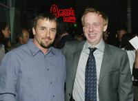 Director Richard Linklater and Mike White at the premiere of