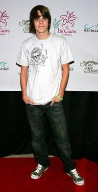 Johnny Simmons at the Lili Claire Foundation fundraiser.