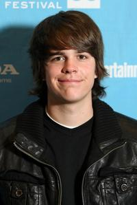 Johnny Simmons at the screening of