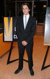 Johnny Simmons at the California premiere of