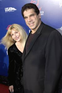 Lou Ferrigno and wife Carla at the 3rd Annual Taurus World Stunt Awards.