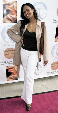 Robinne Lee at an Evening of Beauty and Wellness.