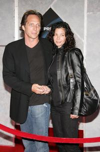 William Fichtner and wife Kymberly Kalil at the premiere of