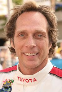 William Fichtner at the Toyota Grand Prix of Long Beach Celebrity Race.
