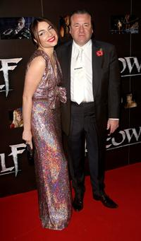 Ray Winstone and his daughter Lois at the premiere of