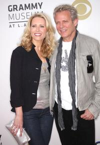 Kathrin Nicholson and Don Felder at the Grammy Nominations concert.