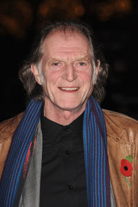 David Bradley at the London premier of