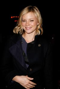 Amy Smart at the BCBG fahion show after party during the Mercedes-Benz Fashion Week Fall 2008.