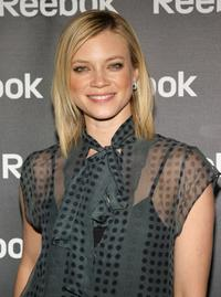 Amy Smart at the Reebok