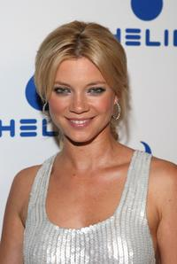 Amy Smart at the Helio launch summer party of