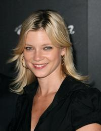 Amy Smart at the launch of the Pink Taco.