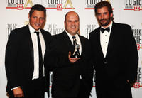 Merrick Watts, David James and Lachy Hulme at the 51st TV Week Logie Awards in Australia.