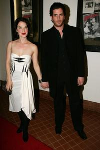 Victoria Hill and Lachy Hulme at the world premiere of