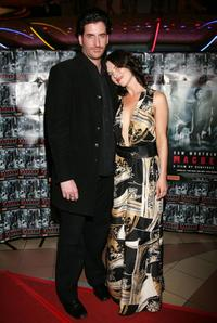 Lachy Hulme and Victoria Hill at the premiere of