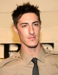 Eric Balfour at the grand re-opening of Burberry Beverly Hills store.