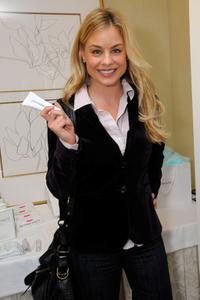 Jessica Collins at the Luxury Lounge during the 2008 SAG Awards.
