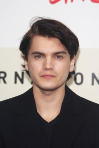 Emile Hirsch at the photocall of