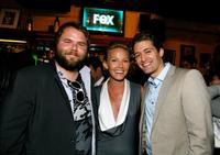 Tyler Labine, Kellie Giddish and Matthew Morrison at the Fox's Upfront presentation.