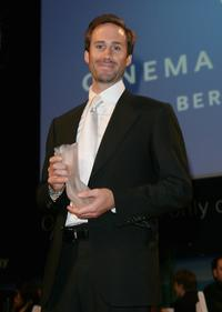 Joseph Fiennes at the 7th Annual Cinema For Peace Gala during the 58th Berlinale International Film Festival.
