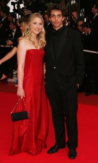 Natacha Regnier and Guest at the premiere of
