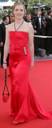 Natacha Regnier at the 57th Cannes Film Festival Opening Ceremony and screening of