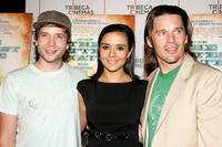 Mark Webber, Catalina Sandino Moreno and Ethan Hawke at the screening of