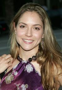 Brooke Nevin at the premiere of