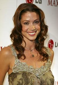 Shannon Elizabeth at the MAXIM Magazine Rock and Roll Poker Tournament.