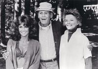 Jane Fonda,  Henry Fonda, and Katharine Hepburn in
